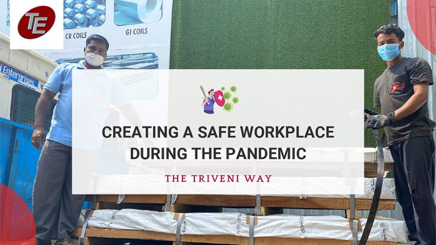 Creating A Safe Environment During The Pandemic, in The Triveni Way