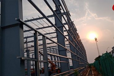 TMEIC Factory in Tumkur – Built With PEB Materials Supplied By Triveni Enterprises