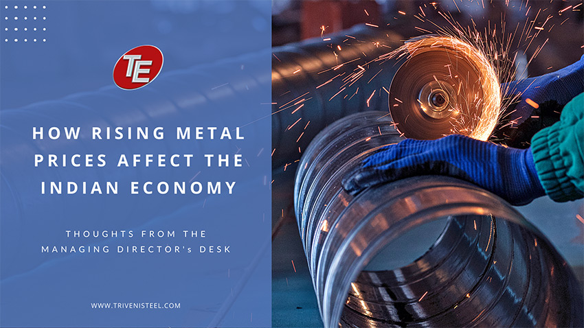How Are Rising Metal Prices Affecting The Indian Economy